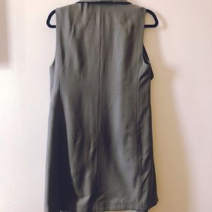 Club Monaco Jackets & Coats - Olive green long vest